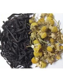 té negro camomila